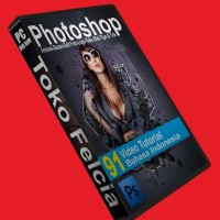 Video Tutorial Photoshop Edit Foto Animasi Desain Logo Teks Efek