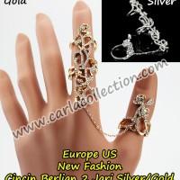 Cincin Berlian Wanita Model Terbaru Korea Style C3 - Carla Collection