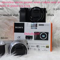 Jual camera sony mirrorless alpha a6000 kit 16-50mm f/3.5-5.6 OSS Murah
