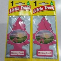 Jual Parfum Pengharum Mobil LITTLE TREES Morning Fresh Murah