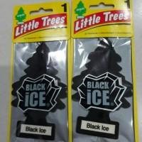 Jual Parfum Pengharum Mobil LITTLE TREES Black Ice Murah