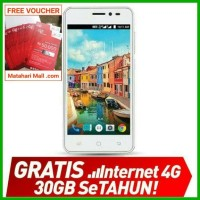 Jual HP Smartfren 4G LTE Andromax A - Free Kuota Total 30GB SeTahun Murah