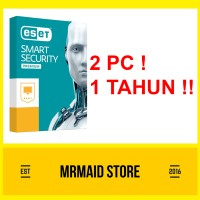 Jual Antivirus ESET Smart Security Premium 10 2 PC 1 Tahun Murah