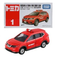 Nissan X-Trail FIRE Chief Car no 1 Tomica Reguler