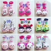 Ready Baby Socks Kaus Kaki Anak Bayi Anti Slip Boneka 3d Import