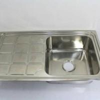 Jual Kitchen Sink / Bak Cuci Piring 1 Lubang / Oki Murah
