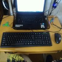 Jual Mouse & Keyboard A4TECH ps/2 + converter ps/2 to usb Murah