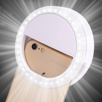 Jual Murah Lampu Flash Smartphone Selfie Lamp Phone Ring Murah