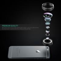 Jual Murah Aukey Optic Pro 238 (Gopro Effect) Fish Eye Wide Lens Clip Murah