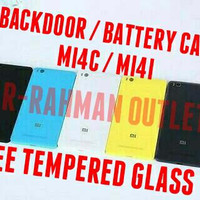 Jual ORIGINAL BACKDOOR XIAOMI MI4I / MI4C TUTUP CASING ASLI BACKCASE WITH S Murah