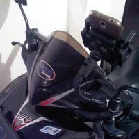 Jual UNIVERSAL MOUNT HOLDER / BRAKET DUDUKAN HP GPS PADA SPION MOTOR Murah