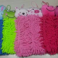 Jual Termurah Lap Tangan Microfiber Chenile Micro Fiber Karakter Hand Towel Murah
