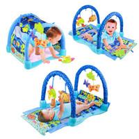 Jual Terlaris Baby Playmat Baby Gift Aquarium/ Matras Bermain Bayi Murah