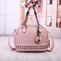 Jual Turun Harga Tas Wanita Hand Bag Selempang Rantai Studded 93370 Vintage Murah