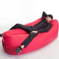 Jual Lazy Sofa Lazy Air Bag Sofa Angin ( Merah ), Murah