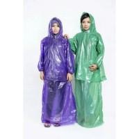 Jual Jas Hujan rok wanita plastik HDPE IBEX raincoat setelan baju rok [042] Murah