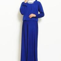 Jual Okechuku New Double Layer Gamis Necklace plus Hijab Murah