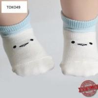 Jual Terbaru Kaos Kaki Pendek Anak Balita Laki Cewe Motif Emoticon Murah - Murah