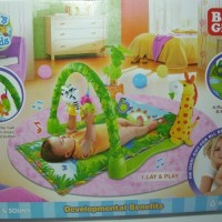 Jual Playmat Baby Gift Rainforest Mainan Bayi Matras Bayi Murah