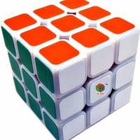Rubik 3x3 bukan Yongjun tapi He Shu Magic Cube Painting dan Licin