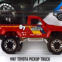 Jual 1987 Toyota Pickup Truck Merah / Red - Hot Wheels Hw Mtf36