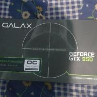 Jual GALAX GEFORCE GTX 950 Black OC Sniper 2GB DDR5 128-Bit No Pin Murah