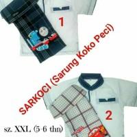 Jual Sarung Koko Peci (sarkoci) size S-L Murah