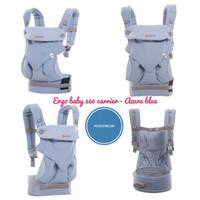Jual Ergo Baby 360 Carrier - Azure Blue Murah