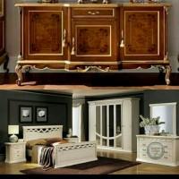 Set Kamar Tidur dan Buffet Minimalis custome - Pesanan Ibu Linda