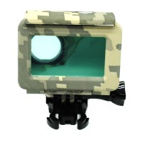 Jual Underwater Waterproof Case Xiaomi Yi 2 4K Army Style 45m Murah