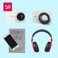 Jual Xiaomi Yi 2 4K Lensa Pelindung Cover   Leather Case Kulit ORIGINAL Murah