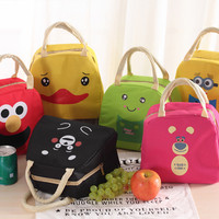 Jual Lunch bag cooler bag Tas bekal KARAKTER Bonus jelly ice Murah
