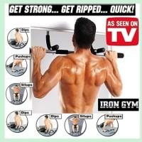 Jual Iron Gym Alat Fitness Olahraga Pembentuk Otot Tubuh Murah