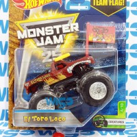 Hot Wheels Hotwheels Monster Jam El Toro Loco coklat lot K 2017