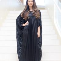 Jual batwing. long pleated dress Murah