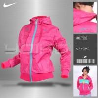 Jual jaket wanita Nike original bolak balik waterproof Murah