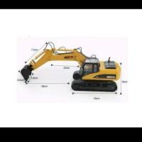 BEST SELLER PREMIUM RC Alat Berat Excavator Metal Miniatur