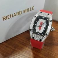Jual Jam Tangan Mewah Richard Mille Ladies matic premium Murah