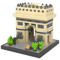 LOZ 9377 Architecture Nano Nanoblock Triumphal Arch