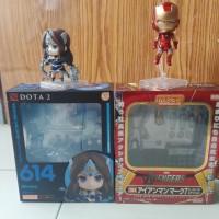 Jual Sepaket BIB Nendoroid original Mirana Dota 2 n Iron Man Mark 7 Murah