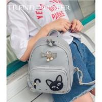 Ransel Anak Cute Import Kulit Fashion Back Pack Modis Tas Murah Korea