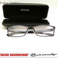 Frame Kacamata New & Trendy : Nikon Titanium. 1608