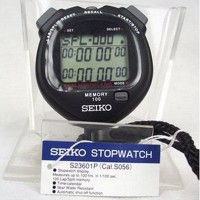 Stopwatch Seiko S23601P Digital S23601 Original Seiko