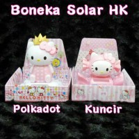 Jual Boneka Solar HK Polkadot / Kuncir Murah