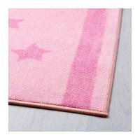HV4511 IKEA HEMMELSK Karpet Anak 133x160 cm  Merah m KODE BIS4565