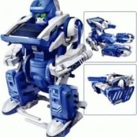 Jual Mainan Edukasi Robot Transformer 3 in 1 / Eduational DIY Solar Kit Murah