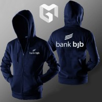 Hoodie Zipper Bank BJB