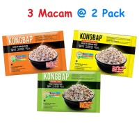 Jual Kongbap Multi Grain Mix - 6 pack all variants  - @ 2 tiap variants Murah