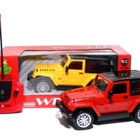 RC Car Jeep Wrangler Rubicon 989-6936 Mainan Remote Control Mobil