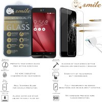 Jual Smile HD Tempered Glass Asus Zenfone Selfie Anti Gores Kaca LCD Depan Murah